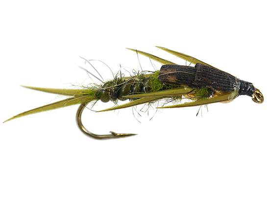 Double BH Olive Stonefly