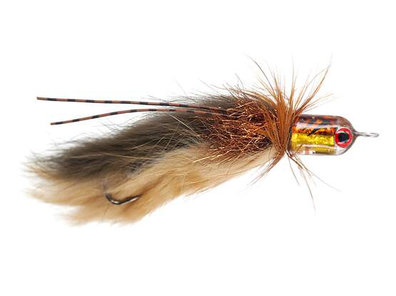 Trinas Bullet Sculpin - Brown