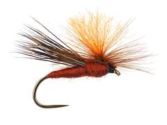 High Viz Parachute Caddis Brown BL 14