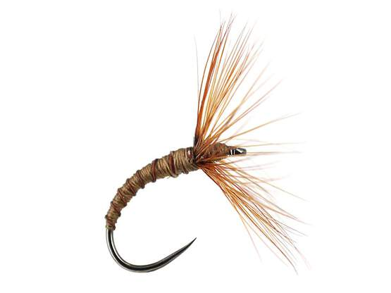 Sakasa Kebari Brown Ribbed