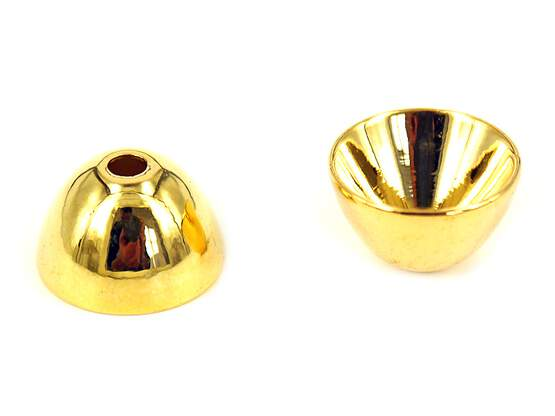 GIANT CONES hotfly - 10 pc. - gold - 15 x 9 mm