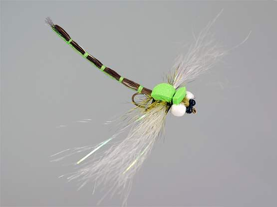 Superb Large Dragonfly Green