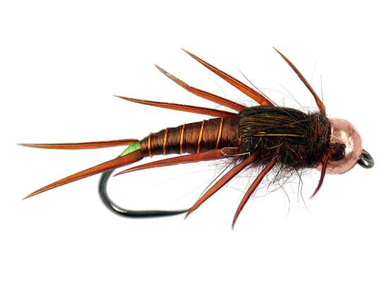 Brown Elite Stonefly Nymph TG BL