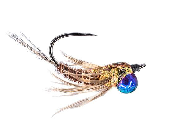 Classic Jig Off Mayfly Nymph TG BL Brown
