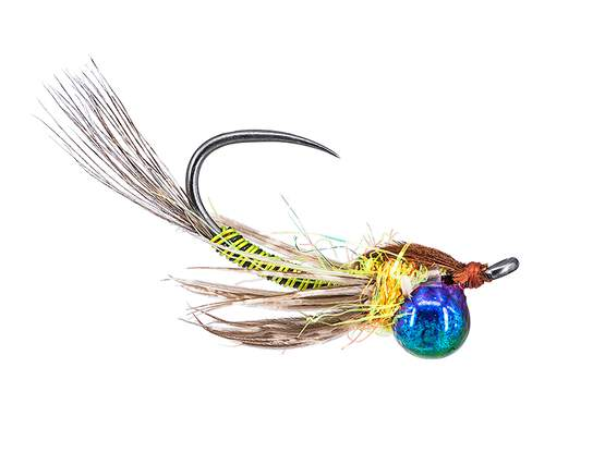Jig Off Metal Hero TG BL Chartreuse