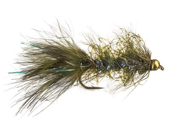 Grizzly Wooly Bugger Olive