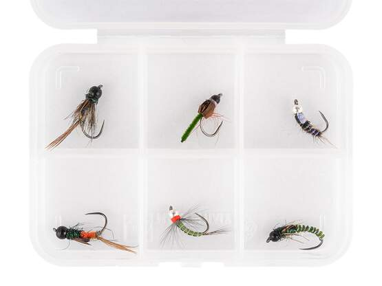 Selección moscas hotfly BRASS BEAD NYMPHS ESSENTIAL LTD -...