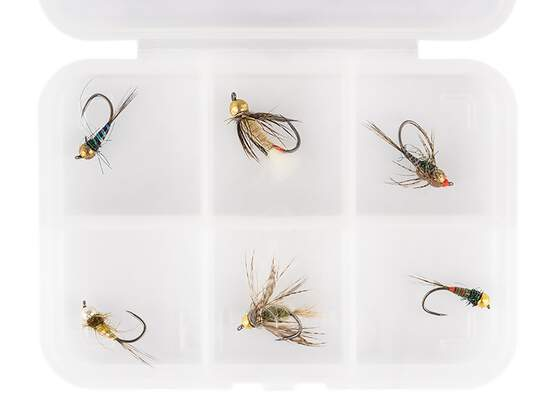 Selección moscas hotfly TUNGSTEN NYMPHS ESSENTIAL LTD - 6...